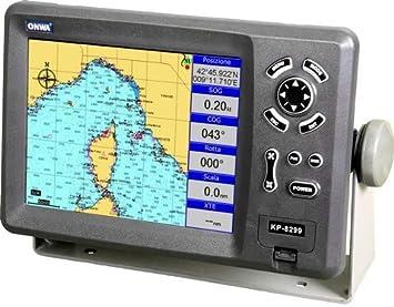 Plotter Cartográfico con GPS ONWA KP-8299B: Amazon.es: Electrónica