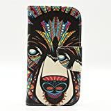 S3 Case, Galaxy S3 III i9300 Flip Case,GOODTONY Wallet Case [Stand Feature] Premium Wallet Case Flip Cover for Samsung Galaxy S3 i9300 Case (Mighty Hound)