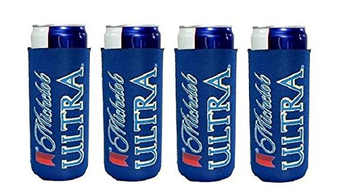 michelob-ultra-slim-line-can-cooler-set-of-4