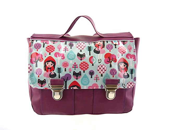 nouveau concept d93d4 33b55 Cartable maternelle fille violet thème