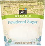 365 Everyday Value Organic, Powdered Sugar, 24 oz