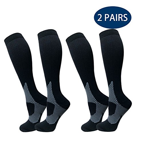 Compression Socks For Men & Women - BEST For Ru...