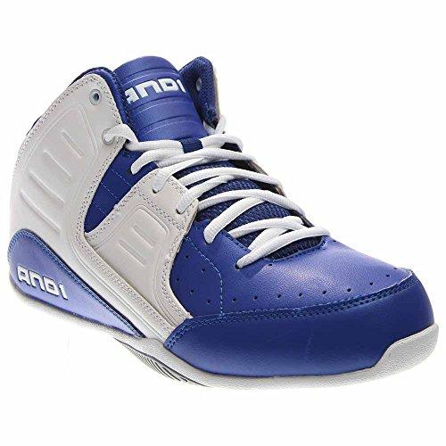 9c22f51328c02 AND 1 Men's Rocket 4.0 Basketball Shoe (10 D(M) US, Surf-White-Silver)