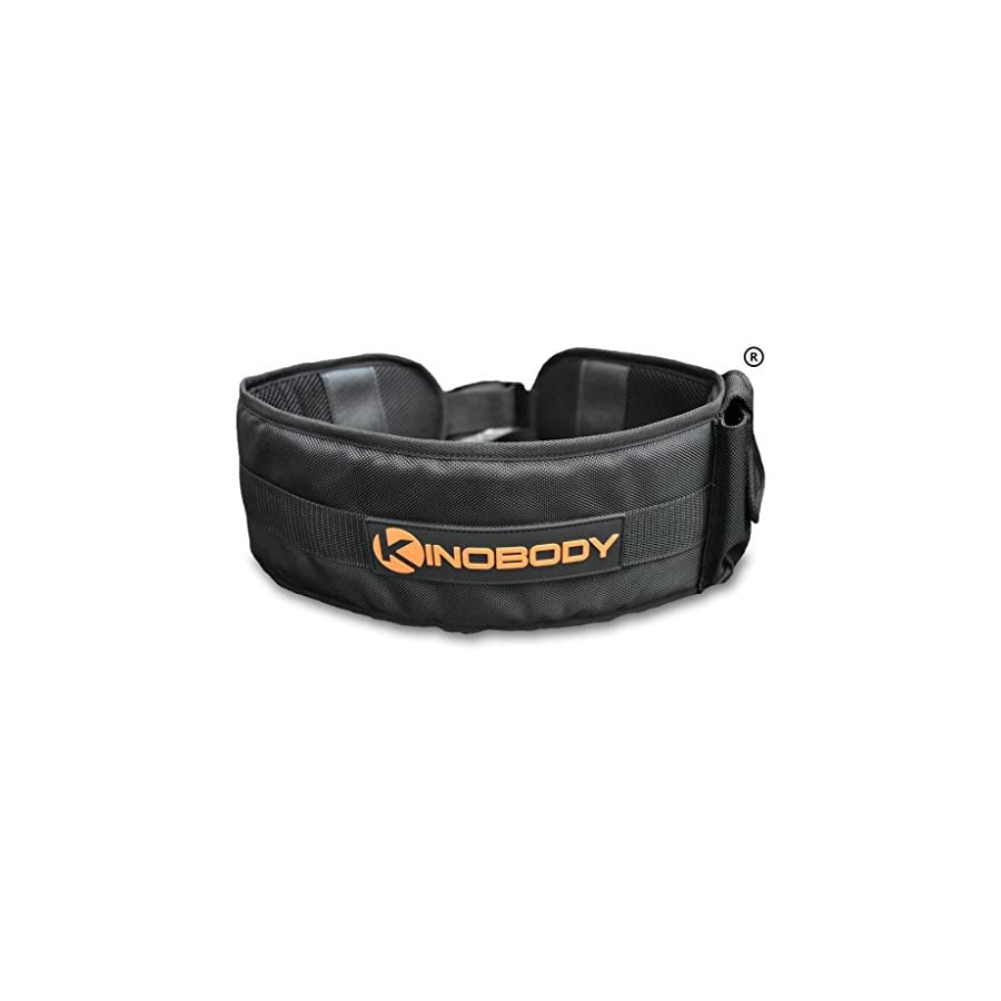 Kinobody Kino Belt One Size Adjustable Dip & Pull Up Belt Made from Military Grade Banded Nylon Front Locking Waist Clip Comfortable Function & Durability