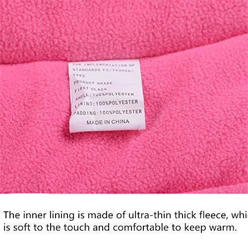 Rosa Rossa Mimetica Giacca Set Sport Invernali Vestiti addensati 14A Zantec Set da Sci Bambino,Unisex,Ragazzi//Ragazze Tuta da Sci Impermeabile Pantaloni Height 150cm