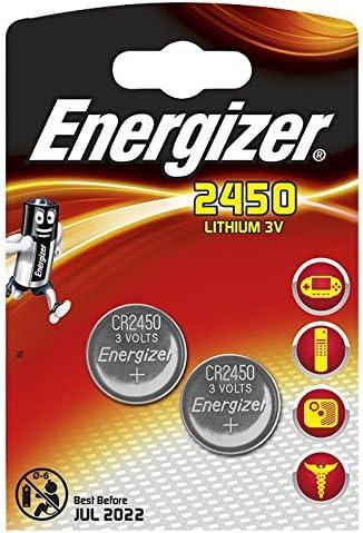 Energizer Akku Lithium Knopfzelle Cr2450 2 Stück Elektronik