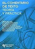 img - for EL comentario de texto book / textbook / text book
