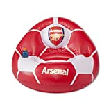 Arsenal FC Official Football Inflatable Chair (One Size) (Red/White)