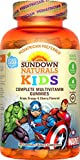 Sundown Naturals® Kids Marvel Avengers® Complete Multivitamin, 180 Gummies