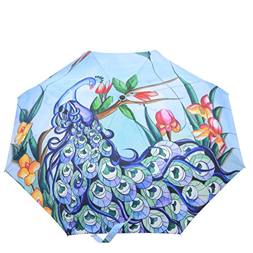 Anuschka Umbrella AUTO Open/Close | UPF 50+ Max Sun protection | 38
