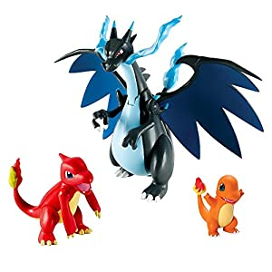 Pokemon Mega Charizard X 3-Figures