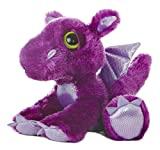 "Aurora World Dreamy Eyes Flame Purple Dragon 10"" Plush"