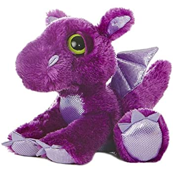 Aurora World Dreamy Eyes Flame Purple Dragon 10