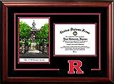 Rutgers University Alumni Mahogany Diploma Frame