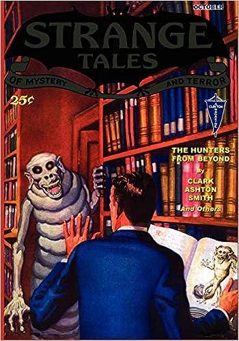 Pulp Classics: Strange Tales #6 (October 1932): Amazon.it