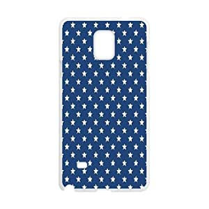 Stars and Stripes Pattern Papers Samsung Galaxy Note 4 Cases, Zachcolo {White}