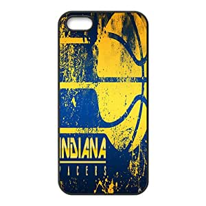 Indiana Pacers NBA Black Phone Case for iPhone 5S Case