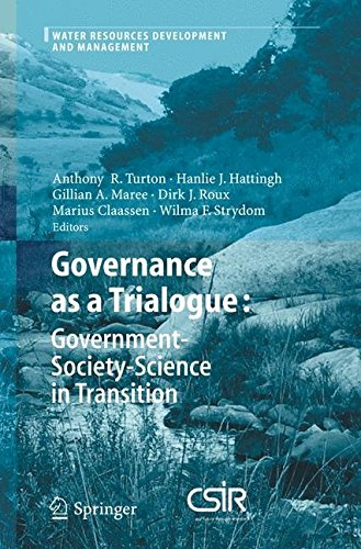 Download Governance as a Trialogue : Government-society-science in Transition(Hardback) - 2007 Edition pdf epub