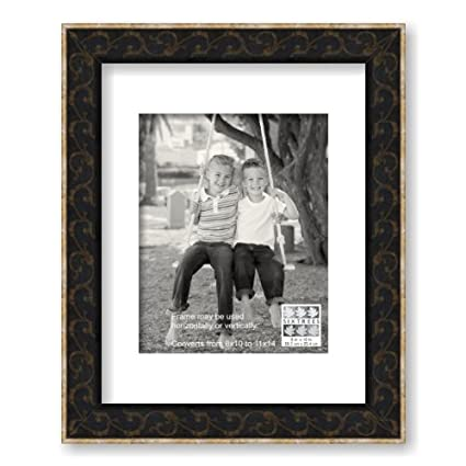 Amazon.com - Sixtrees Scroll Frame, Brown Gold - Single Frames