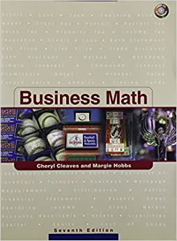 Business Math by Cheryl S. Cleaves (2004-06-23)
