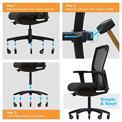 Superb Office Chair Base Replacement Heavy Duty Chair Parts To Ibusinesslaw Wood Chair Design Ideas Ibusinesslaworg