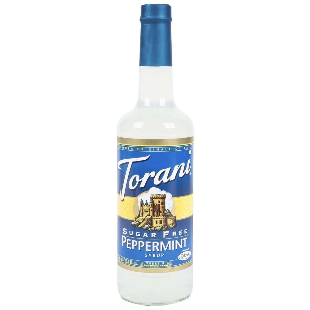 Torani Sugar Free Syrup, Peppermint, 25.4 Ounces