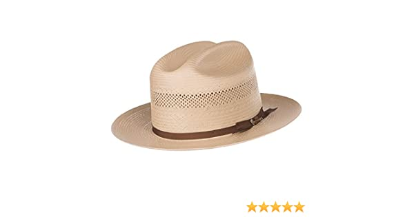 31f1c87ad8b1a Stetson Men s Open Road Hat Tan 6 3 4 at Amazon Men s Clothing store