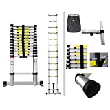 Sotech - 12.45ft telescopic ladder with a complimentary carry bag and balance bar