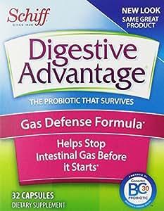 Digestive Advantage Probiotics Gas Defense Formula Probiotic Capsules, 32 Count