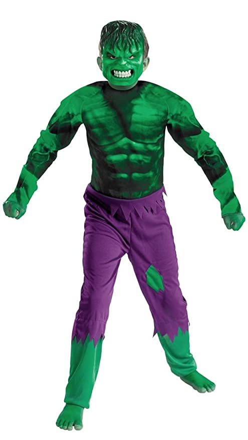 Disguise Marvel Hulk Classic Boys Costume Large/10-12  sc 1 st  Amazon.com & Amazon.com: Disguise Marvel Hulk Classic Boys Costume Large/10-12 ...