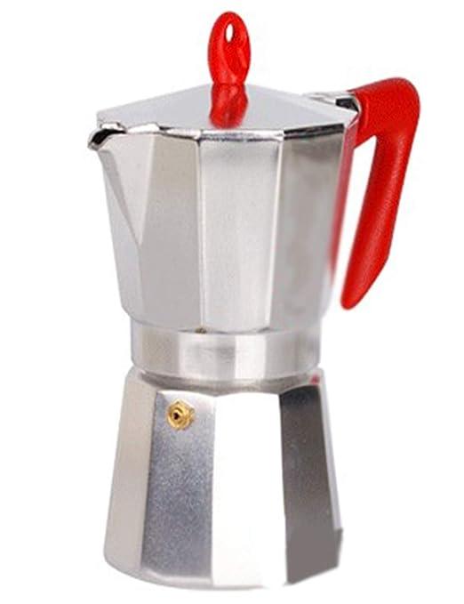BAIJJ Cafetera Espresso Italiana, Olla Moka de Acero Inoxidable ...