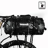 Rhinowalk Bike Bag Waterproof Bike Pannier for Biycle Cargo Rack 25L Postman Saddle Bag Shoulder Bag Laptop Pannier Rack Bicycle Bag Professional Cycling Accessories (Two in one)