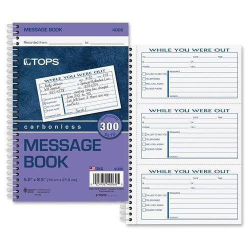 TOP4006 - TOPS Important Message Book