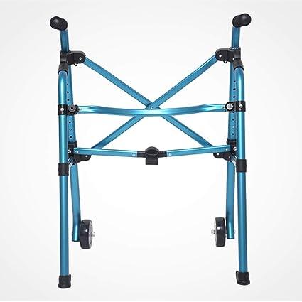 ZXL Walker Blue Ligero 2.6kg Adultos Mayores Adultos Rollator ...