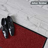 Sierra Concepts 2-Pack Front Door Mat Ribbed Red