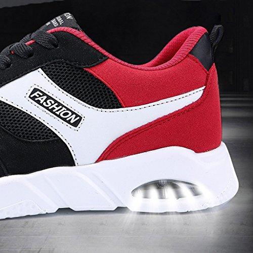 stile Espadrillas Red Bianca uomo da traspiranti Scarpe Scarpe basse scarpe 37 selvagge uomo scarpe estate nuove tela Color da di Size scarpe sportive 4r4qPwHxB