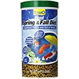 TetraPond Spring And Fall Diet, Pond Fish Food, For Goldfish And Koi