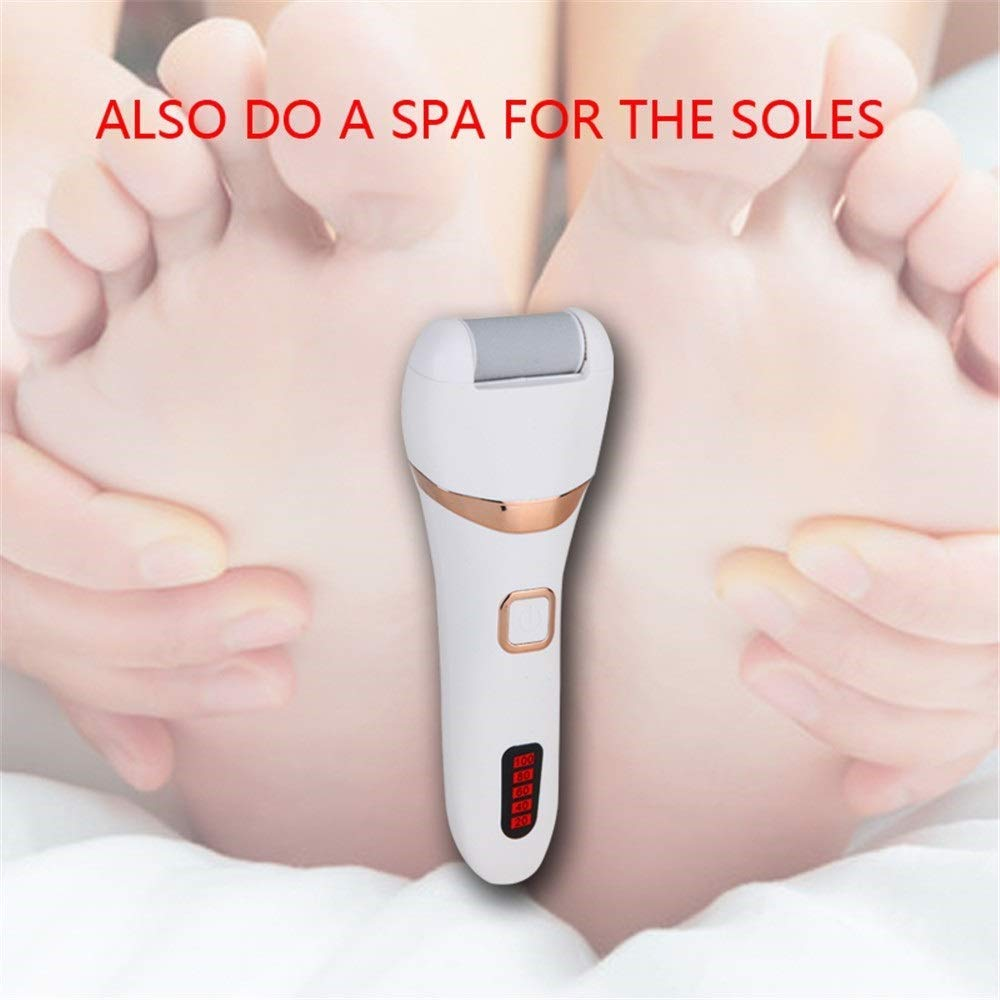Yafang Feet Care Machine Electric Foot Callus Remover Foot File Professional Spa Electronic Micro Pedi Feet Care Perfect for Hard Cracked Skin by Yafang