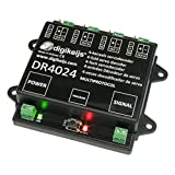 DR4024 4 Channel DCC Servo Decoder With 4 Extra Switching Outputs