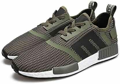 6445dd5e327 Dig dog bone Men s Athletic Shoes Flat Heel Solid Color Lace up Sport Shoes