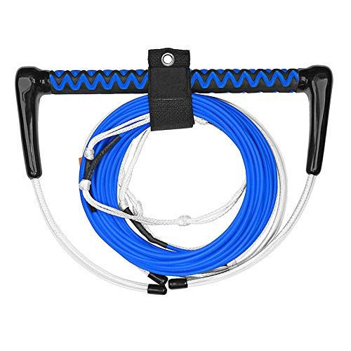 MRT SUPPLY Dyneema 70 Foot 4 Section Thermal Boat Wakeboard Tow Rope, Blue with ()