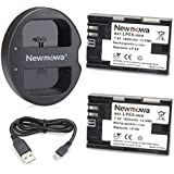LP E6 LP E6N Newmowa Battery (2 pack) and Dual USB Charger for Canon LP-E6, LP-E6N and Canon EOS 5D Mark IV,EOS 5D Mark III,EOS 5D Mark II,EOS 6D,EOS 7D,EOS 7D Mark II,EOS 60D,EOS 70D,EOS 80D,XC10