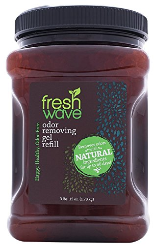 Fresh Wave Continuous Release Odor Removing Gel, 63 oz. Jar (3 lbs. 15 oz.) (Fresh Air Freshener)