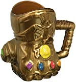 Vandor 26181 Marvel Infinity Wars Gauntlet Shaped Ceramic Soup Coffee Mug Cup, 20 Ounce