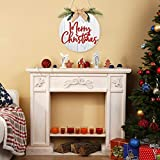 Jetec Merry Christmas Decorations Wreath