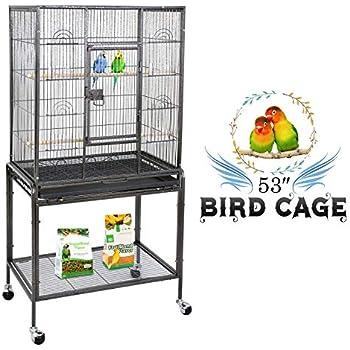 Amazon com : Great Companions Large Bird Cage - Prevue