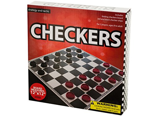 Folding Checkers Game Toys Christmas Gift