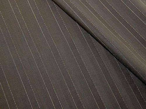 Wool Pinstripe Suiting - 1
