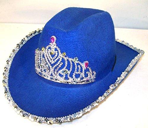 1-new-girls-western-dark-blue-cowboy-hat-with-crown-tirra-hats-womens-cap-ht149