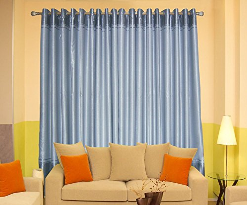"""Sleek Heavy Good Quality Blackout Curtains,wide Width From 72"""" Upto 127"""" ,Length From 84"""" Upto 108"""" (100""""WX96""""L) For Sale"""